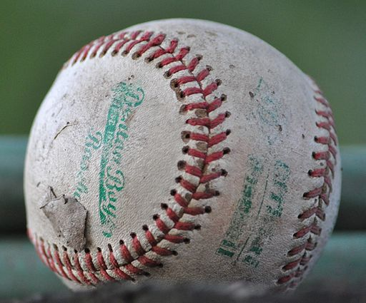 512px-A_worn-out_baseball